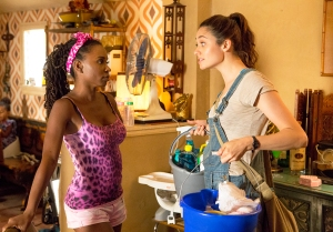 Shanola Hampton and Emmy Rossum as Veronica Fisher and Fiona Gallagher in 'Shameless'