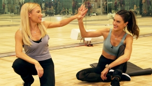 Tracy Anderson and Alessandra Ambrosio