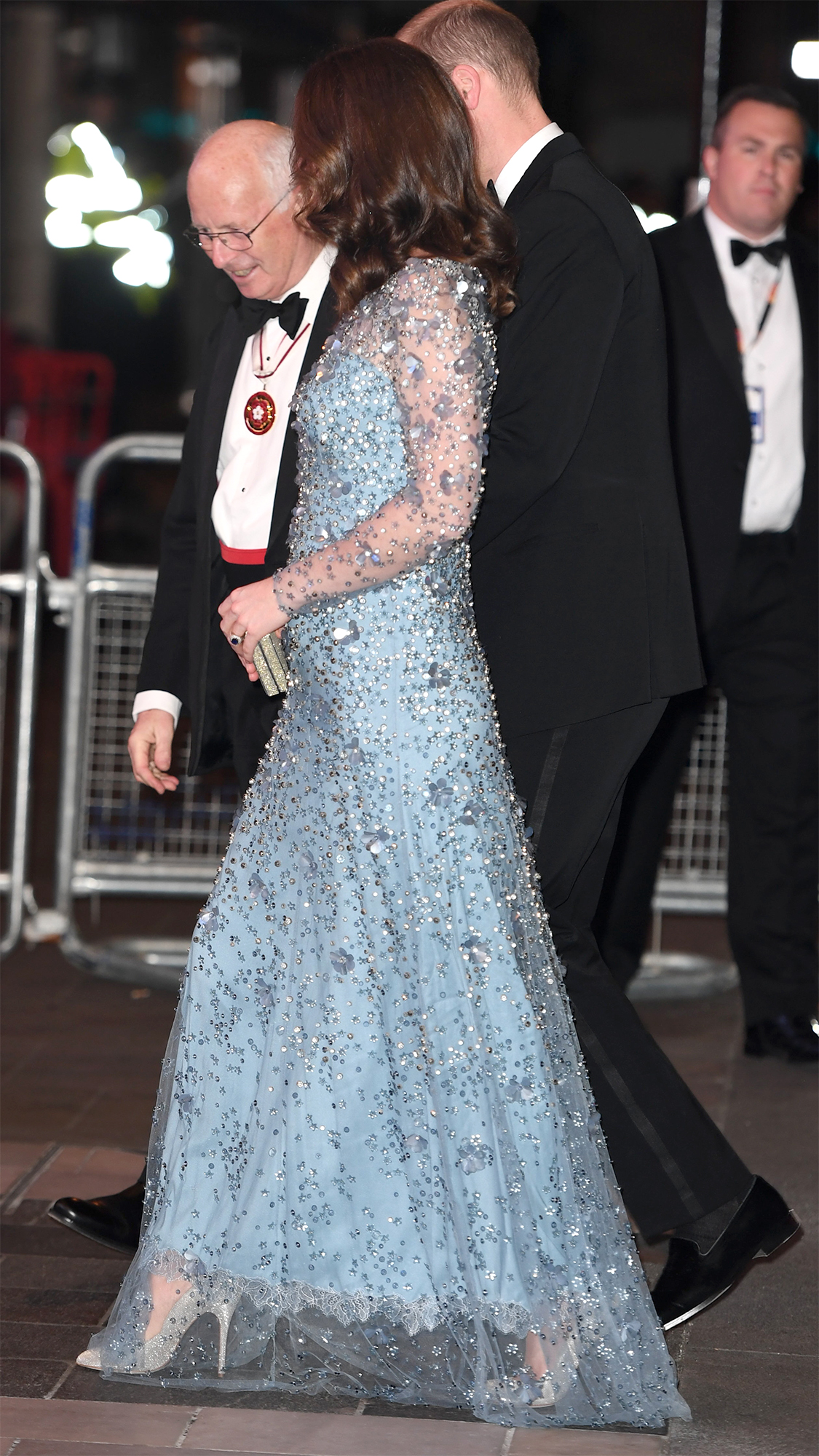 Duchess Kate Sparkles With Prince William at Royal Variety Performance