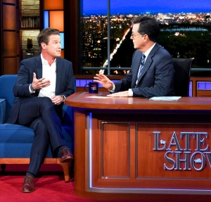 Billy Bush on 'The Late Show with Stephen Colbert'