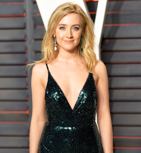Saoirse Ronan attends the 2016 Vanity Fair Oscar Party Hosted By Graydon Carter at Wallis Annenberg Center for the Performing Arts in Beverly Hills, California.