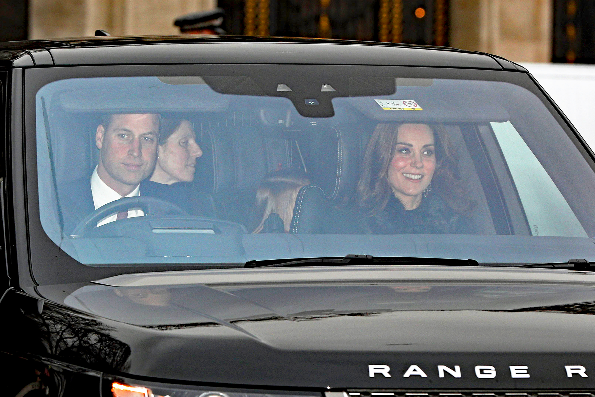 Prince Harry Meghan Markle Attend The Queens Christmas Lunch