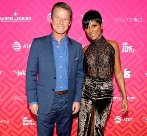 Billy Bush and Tamron Hall attend Us Weekly's Most Stylish New Yorkers 2016 at Vandal on September 13, 2016 in New York City.