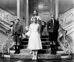 The von Trapp children perform the song 'So Long, Farewell' in 'The Sound of Music'