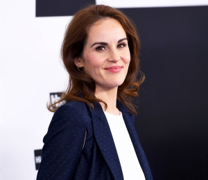 Michelle Dockery attends the Turner Upfront 2017 at the theater at Madison Square Garden on May 17, 2017 in New York City.