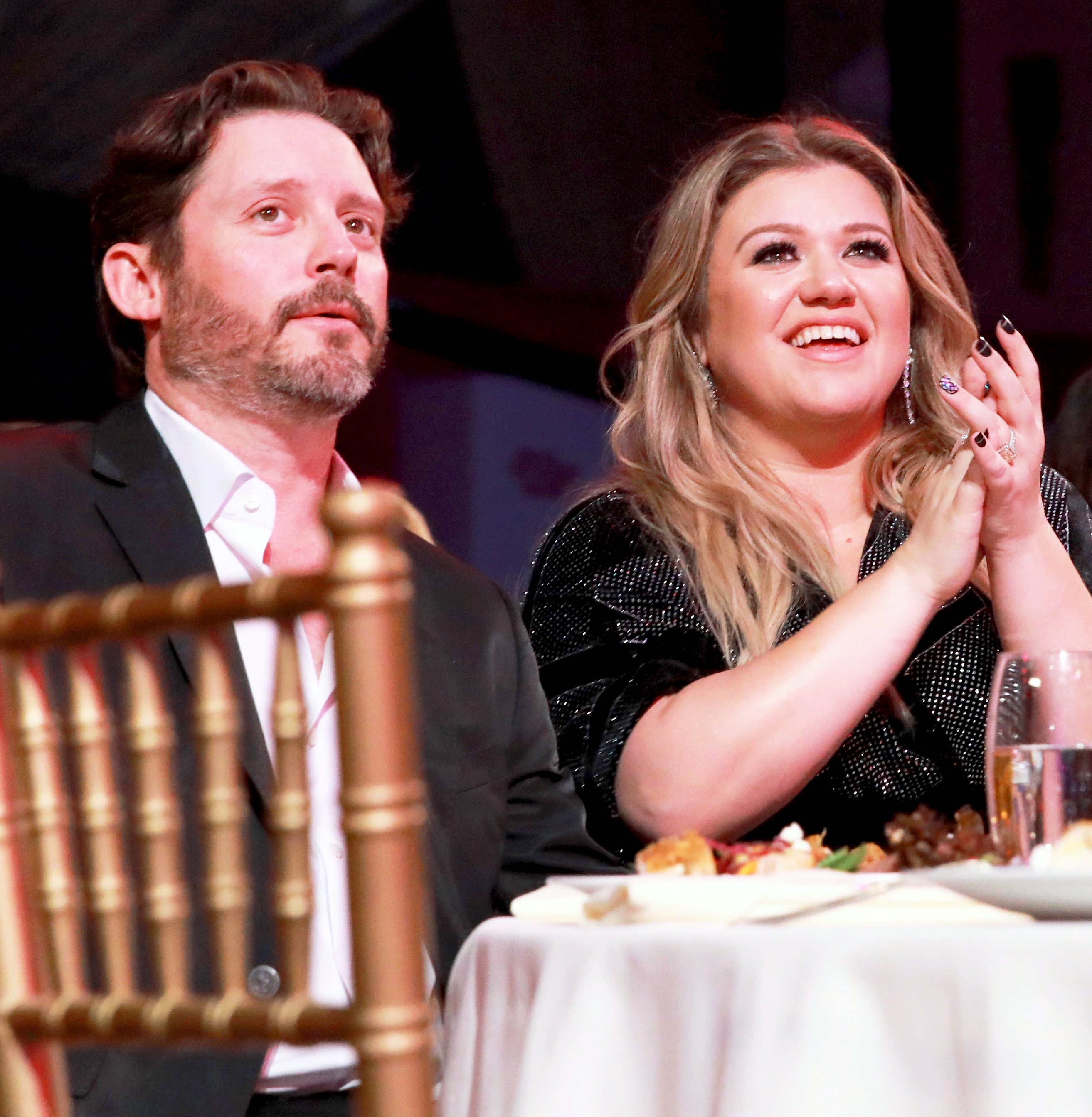 Brandon Blackstock and Kelly Clarkson attend Billboard's Women in Music 2017 at The Ray Dolby Ballroom at Hollywood & Highland Center in Hollywood California