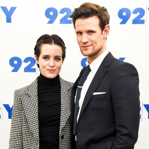 Claire Foy and Matt Smith attend the screening of 'The Crown' at 92nd Street Y on December 4, 2017 in New York City.