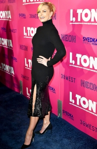 "Jaime Pressly attends premiere of Neon's ""I, Tonya"" at the Egyptian Theatre on December 5, 2017 in Hollywood, California."