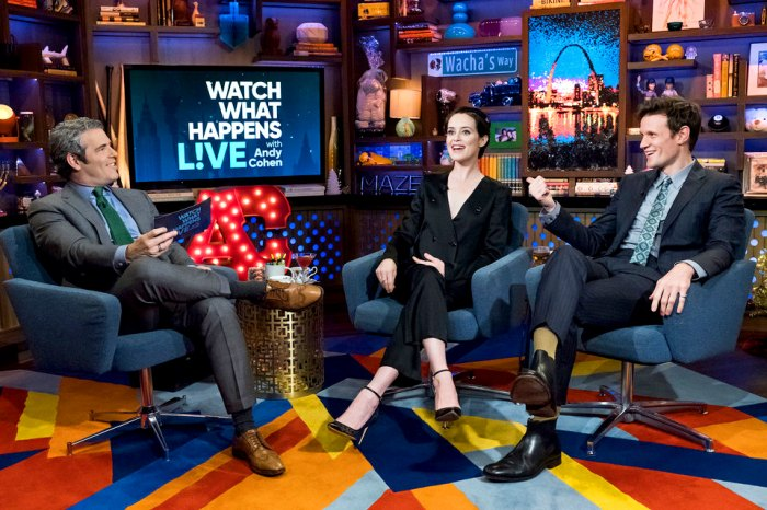 Claire Foy and Matt Smith on 'Watch What Happens Live with Andy Cohen'