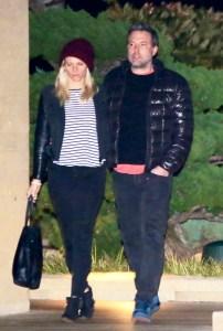 en Affleck takes his girlfriend Lindsay Shookus for a romantic dinner at Nobu in Malibu, California on December 26, 2017.