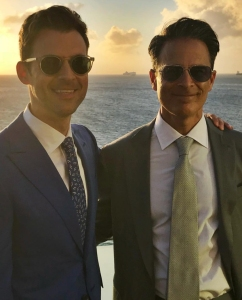Brad Goreski and Gary Janetti married