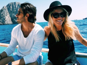 Claire Holt, Andrew Joblon, Engaged