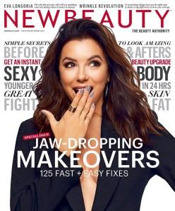 Eva Longoria NewBeauty Magazine Cover