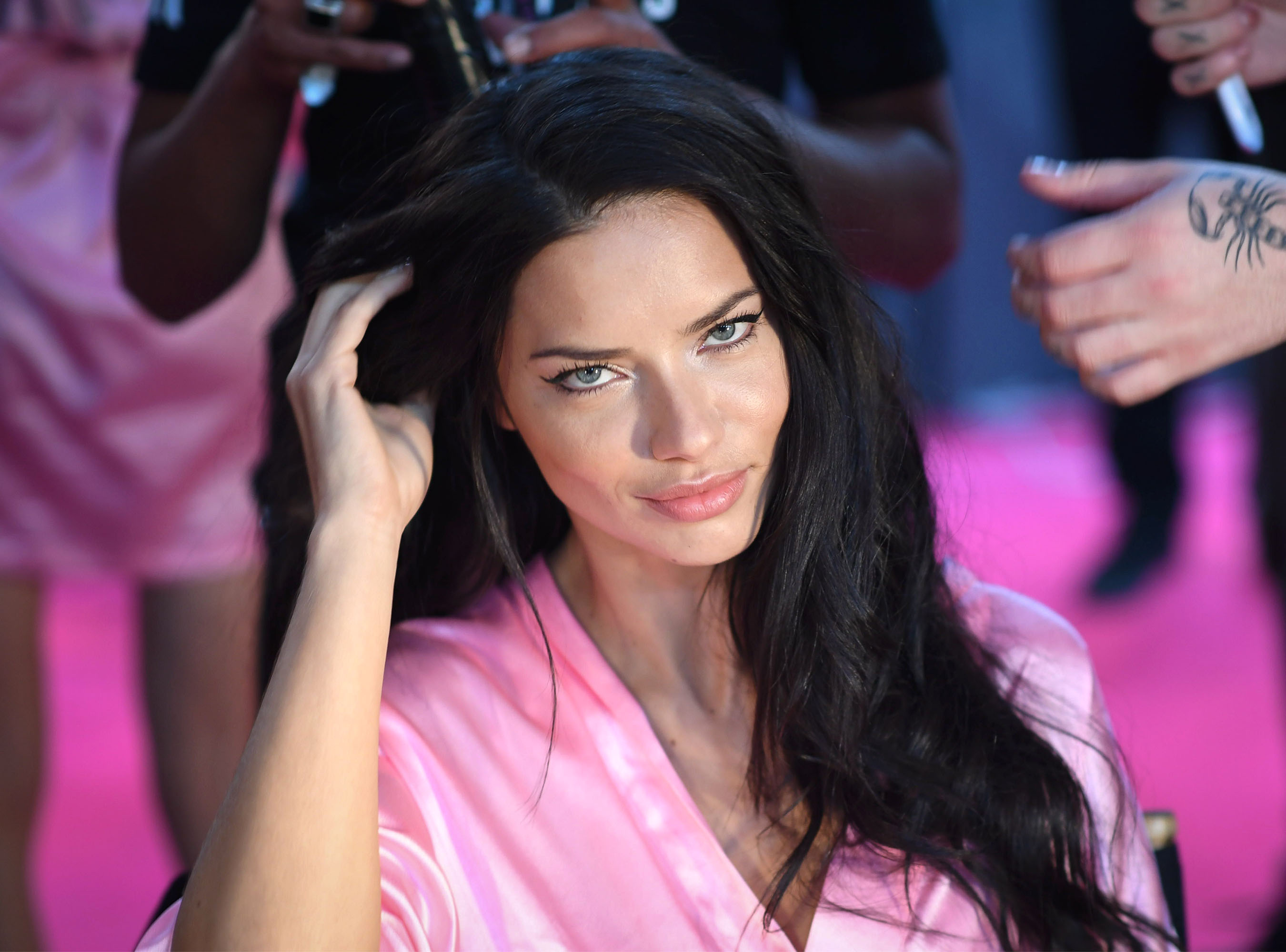 Adriana Lima won't take her clothes off anymore for 'an empty cause'
