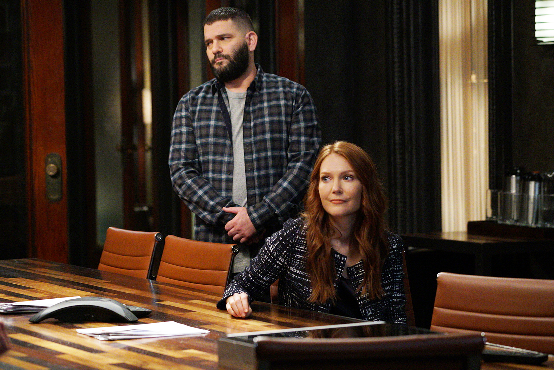 Guillermo Diaz Darby Stanchfield Scandal