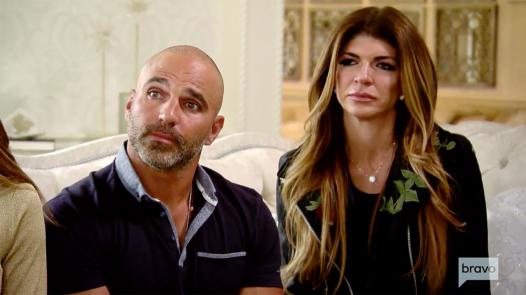 Joe Gorga Teresa Giudice visit medium