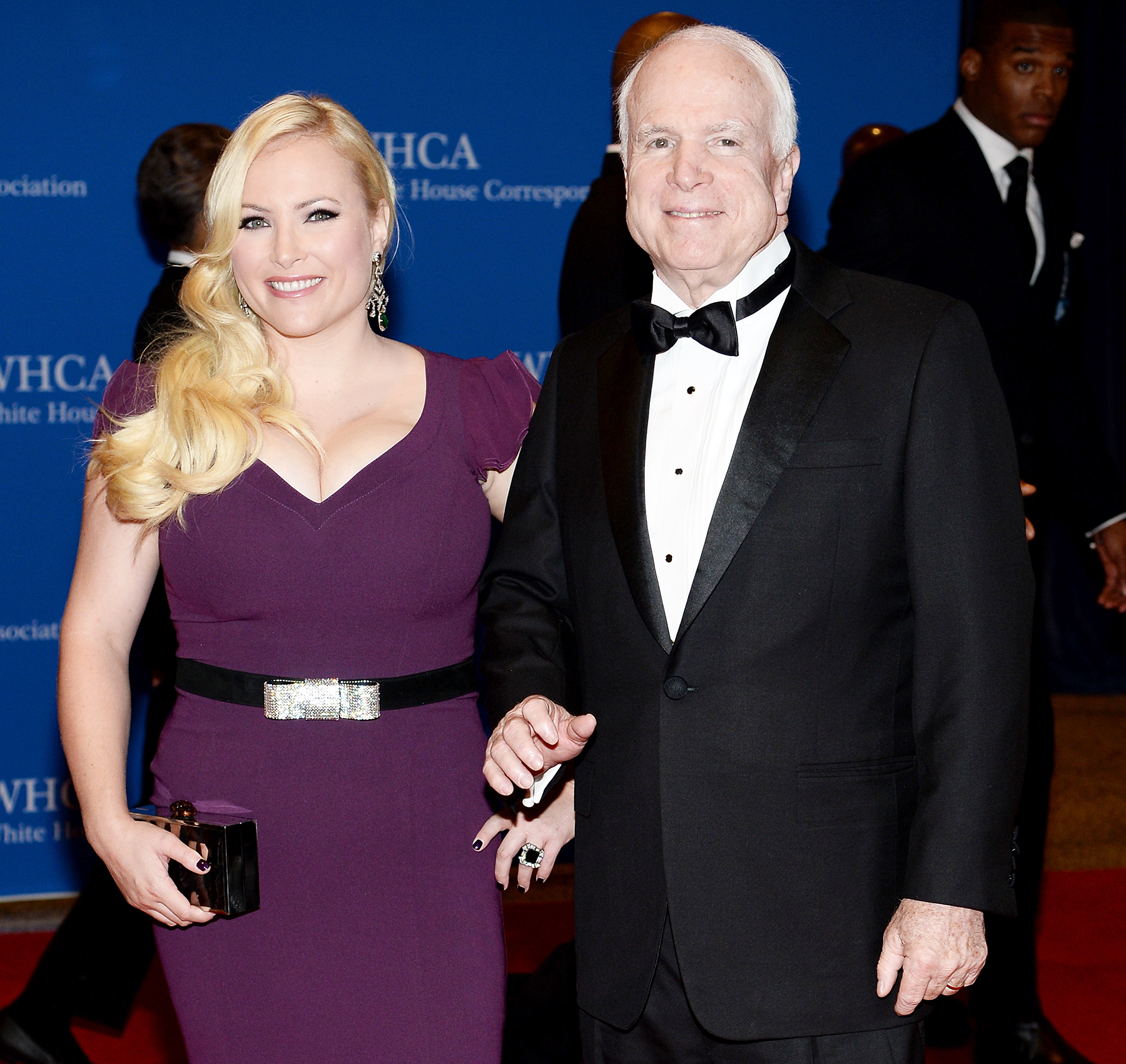 Megan McCain John McCain attend White House Correspondents' Association Dinner