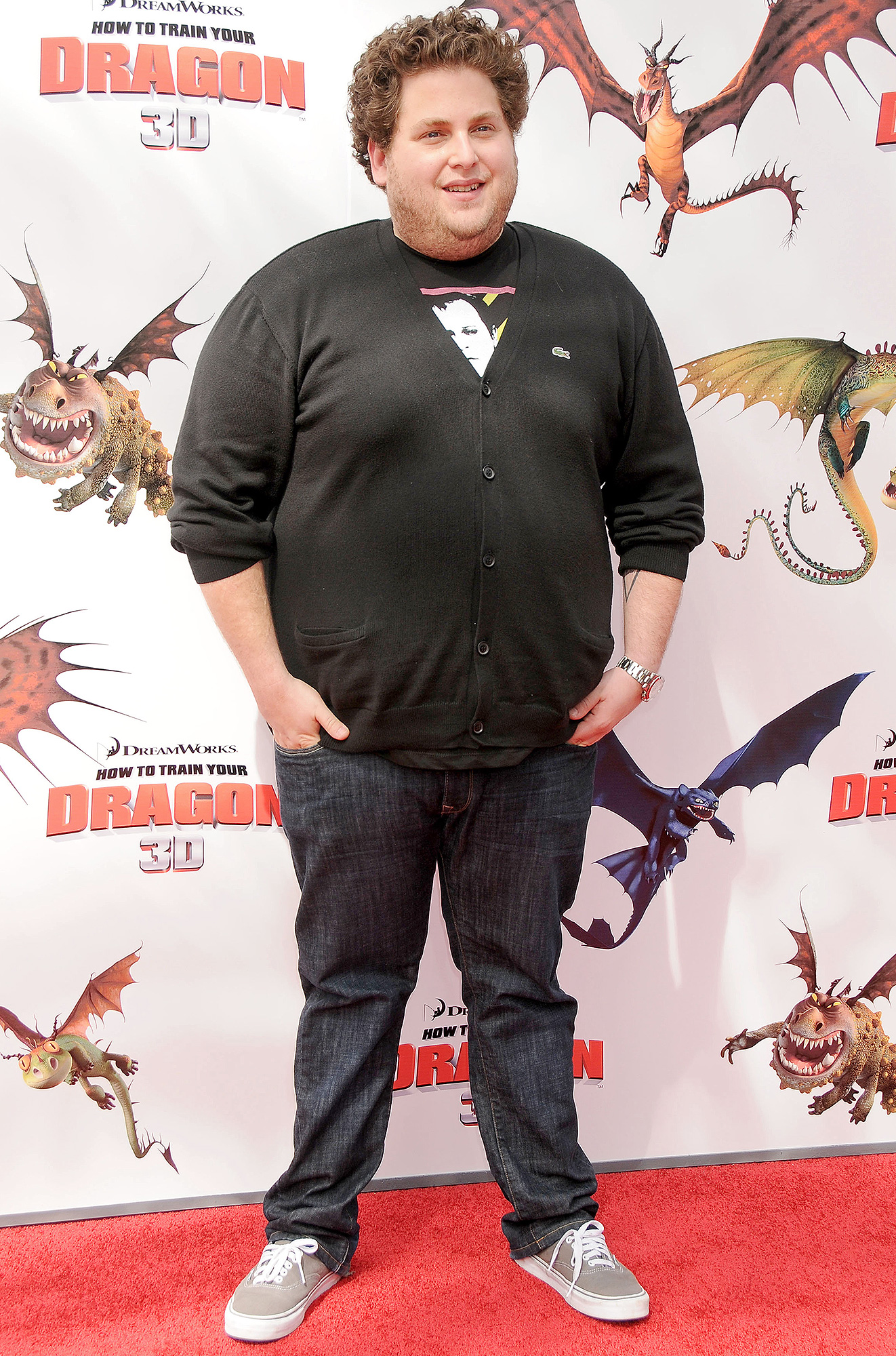 Jonah hill shows off weight loss before and after pictures march 2010 hill rocked a ccuart Gallery