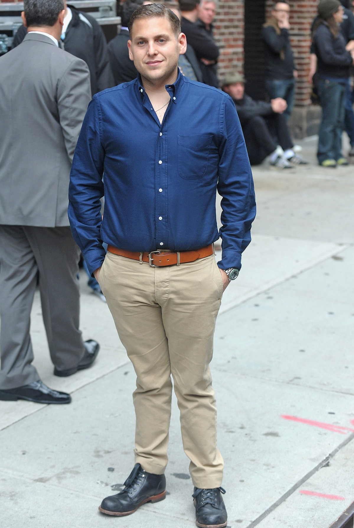 Jonah Hill Shows Off Weight Loss Before And After Pictures