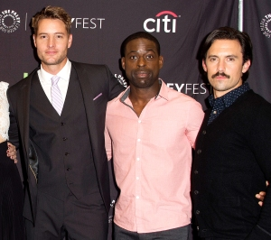 Justin-Hartley,-Sterling-K.-Brown-and-Milo-Ventimiglia-best-friends