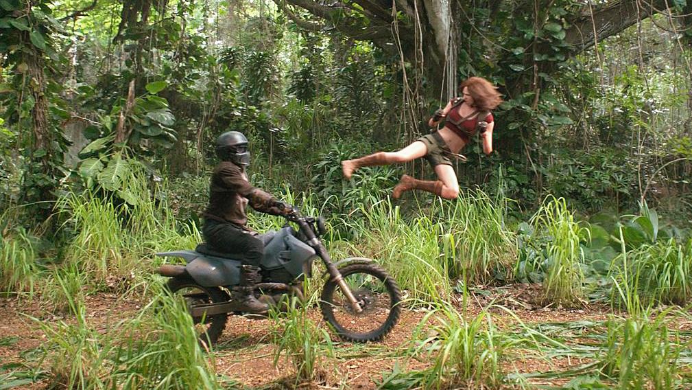 Karen Gillan in Jumanji: Welcome To The Jungle