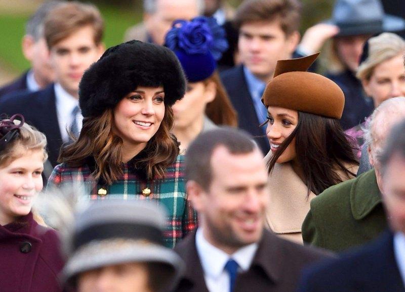 Kate Middleton and Meghan Markle Christmas