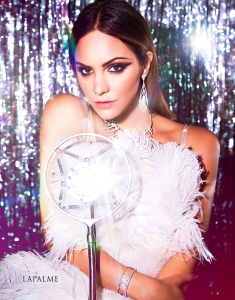 Katharine McPhee on the cover of LaPalme Magazine