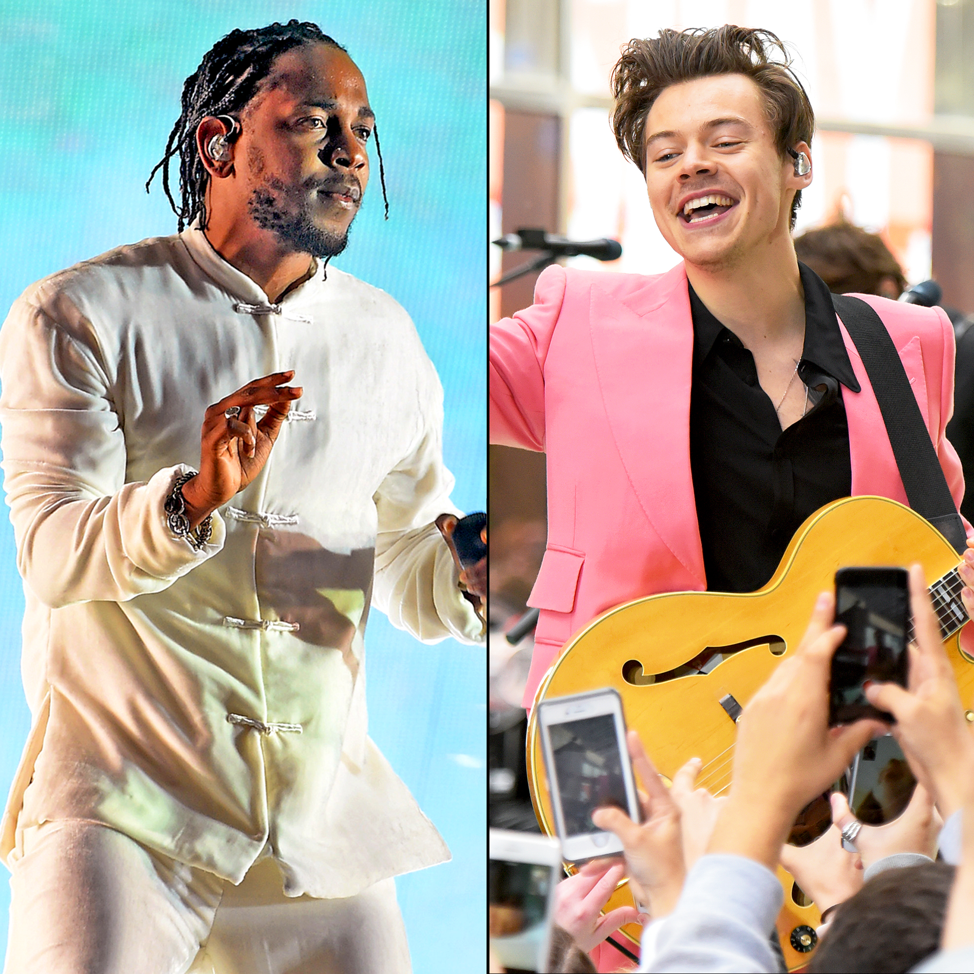 Kendrick Lamar and Harry Styles