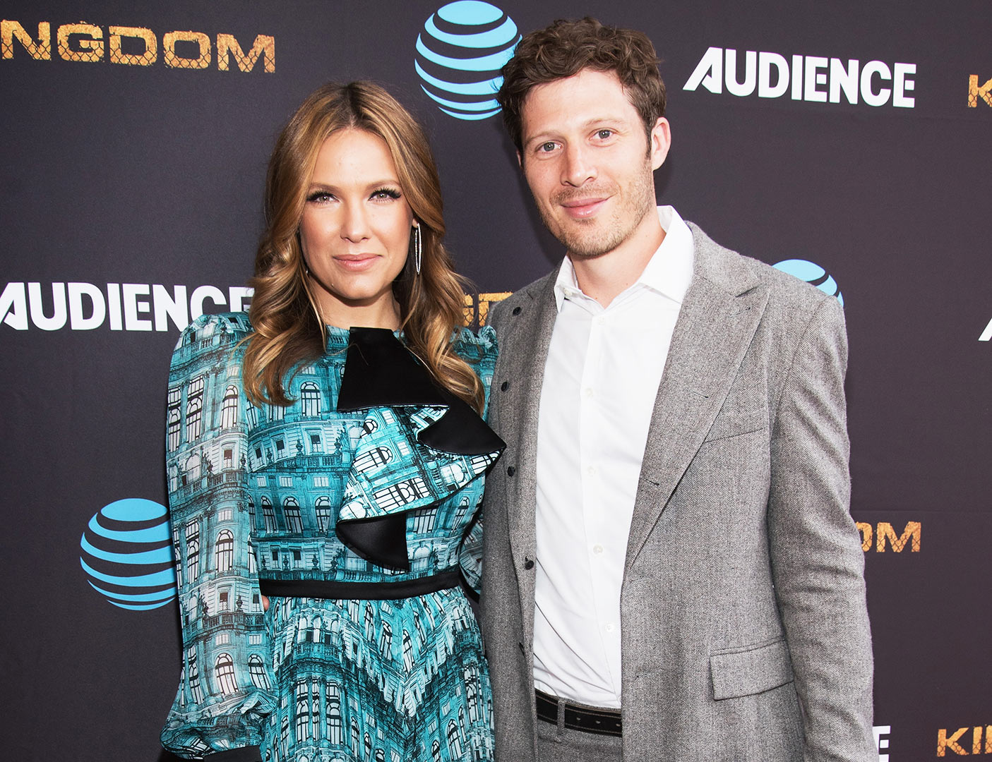 Kiele Sanchez and Zach Gilford - Kiele Sanchez and Zach Gilford attend the premiere screening of DirecTV's 'Kingdom' at Harmony Gold Theater on May 25, 2016 in Los Angeles, California.