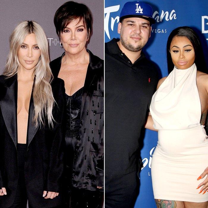 Kim and Rob Kardashian, Kris Jenner Respond to Blac Chyna's Lawsuit