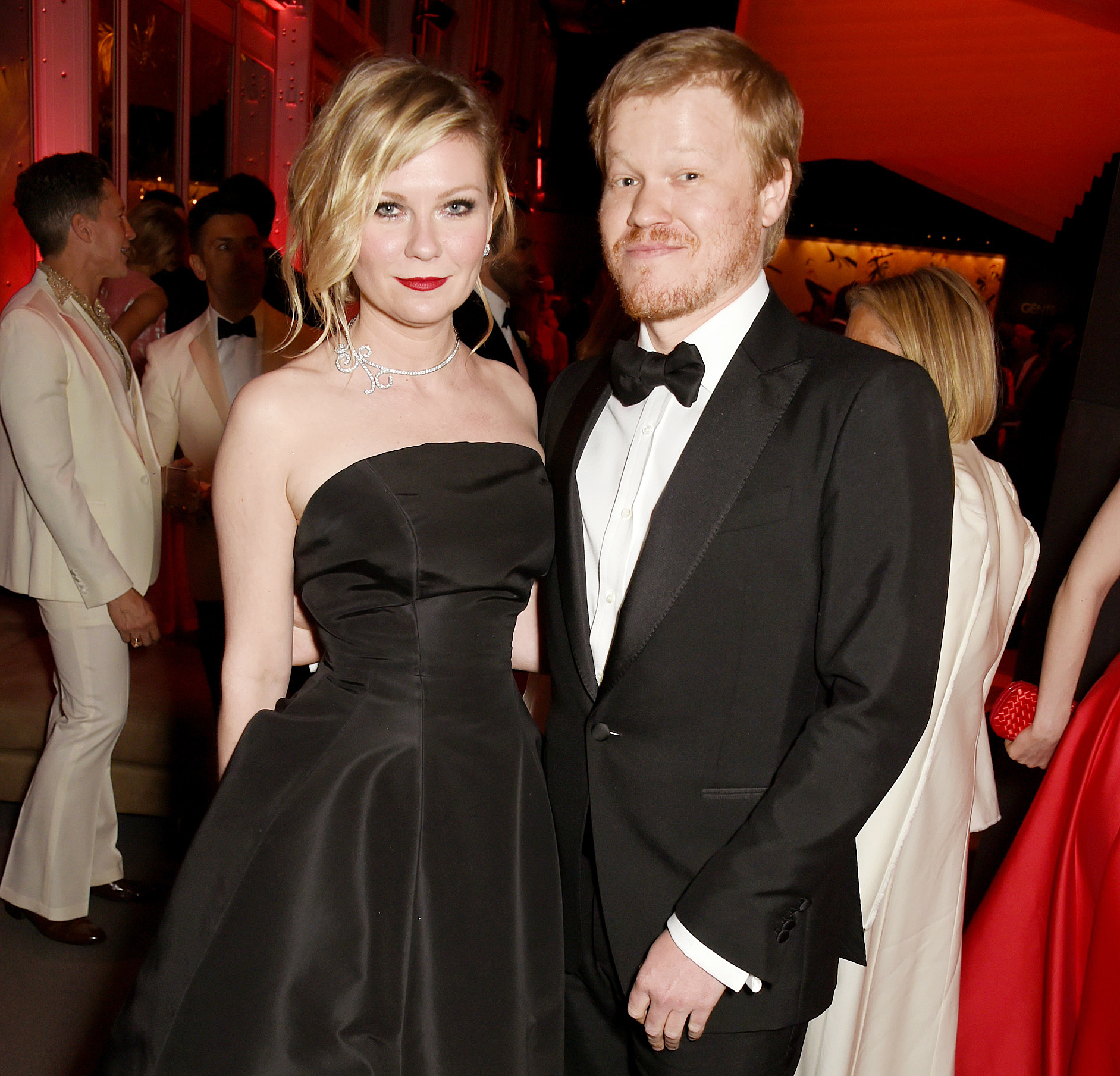Kirsten Dunst 'pregnant with first baby' after getting engaged to Jesse Plemons