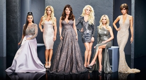 Kyle Richards, Teddi Mellencamp Arroyave, Lisa Vanderpump, Erika Girardi, Dorit Kemsley, Lisa Rinna on season 8 of The Real Housewives of Beverly Hills