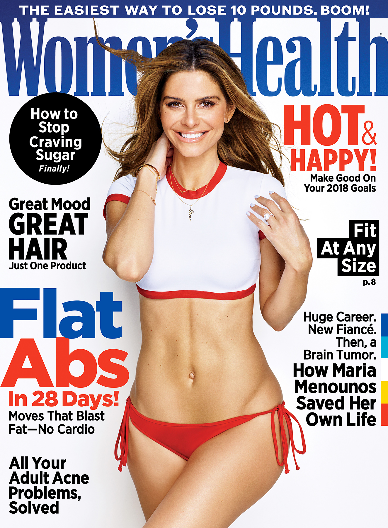 Maria Menounos on the cover of Women's Health
