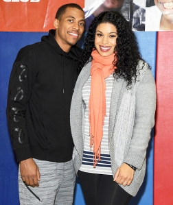 Jordin Sparks and Dana Isaiah celebrating inspiring youth with U.S. Cellular`s The Future of Good program at Madison Square Boys & Girls Club in the Bronx on November 30, 2017.