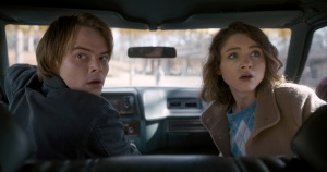 Charlie Heaton, Natalia Dyer, Netflix, Stranger Things, Couple