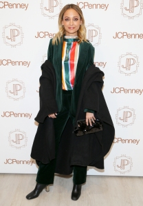 Nicole Richie attends the opening of Jacques Penne, a JCPenney holiday boutique pop-up shop celebration on December 7, 2017 in New York City.