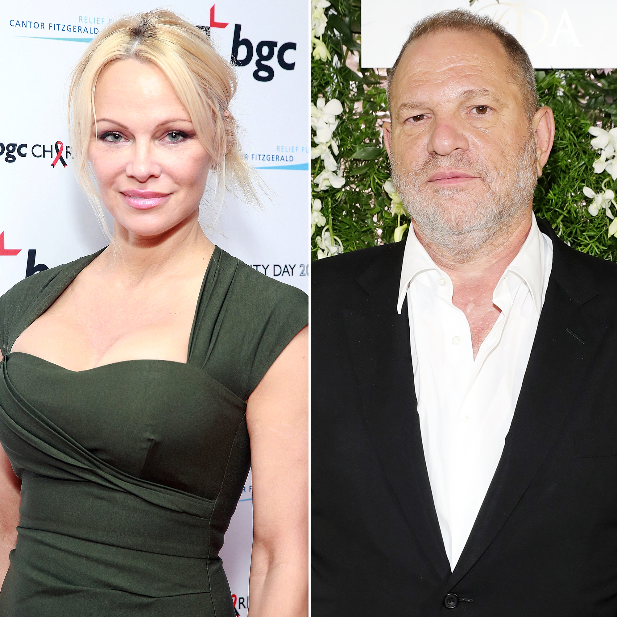 Pam Anderson: Weinstein attacks were 'common knowledge'