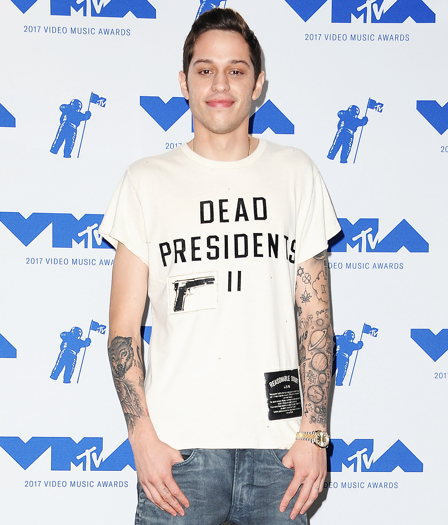 Did SNL's Pete Davidson Just Get a Hillary Clinton Tattoo?