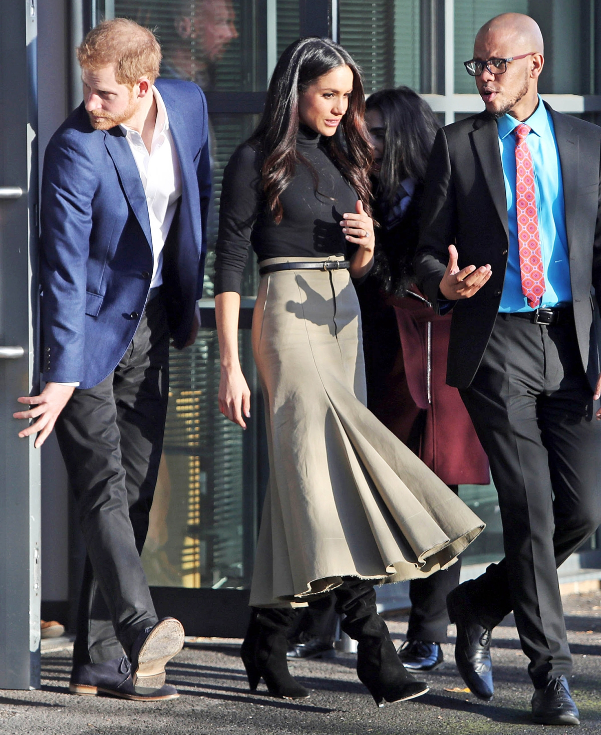 prince harry meghan markle attend first royal engagement together