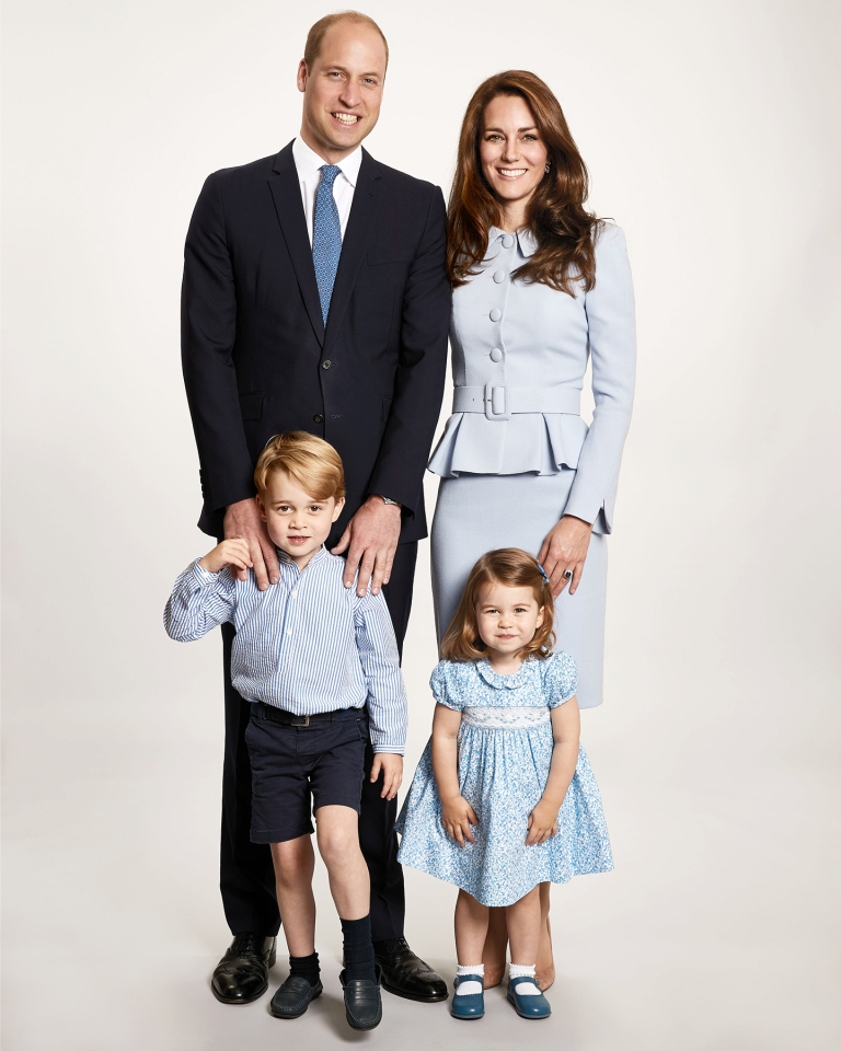 Prince William and Kate Middleton Reveal Their 2017 Christmas Card Plus