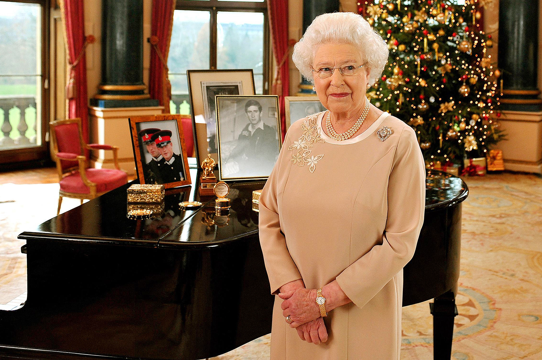 Queen Elizabeth II Christmas