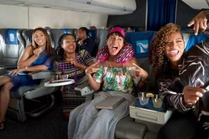 Regina Hall, Tiffany Haddish, Jada Pinkett Smith and Queen Latifah in 'Girls Trip'
