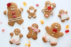 Sarah Michelle Gellar Gingerbread Cookies Foodstirs