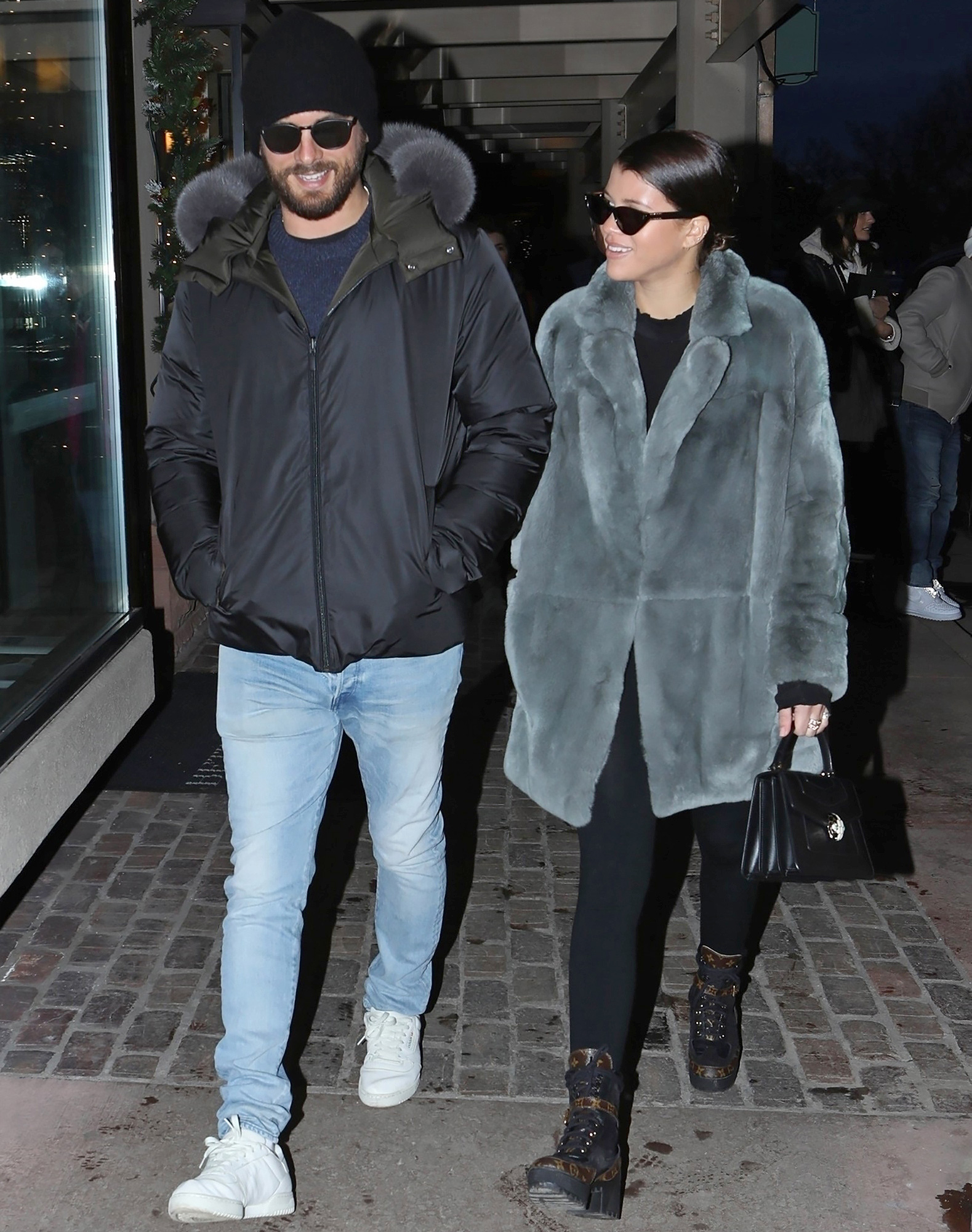 Who does scott disick date