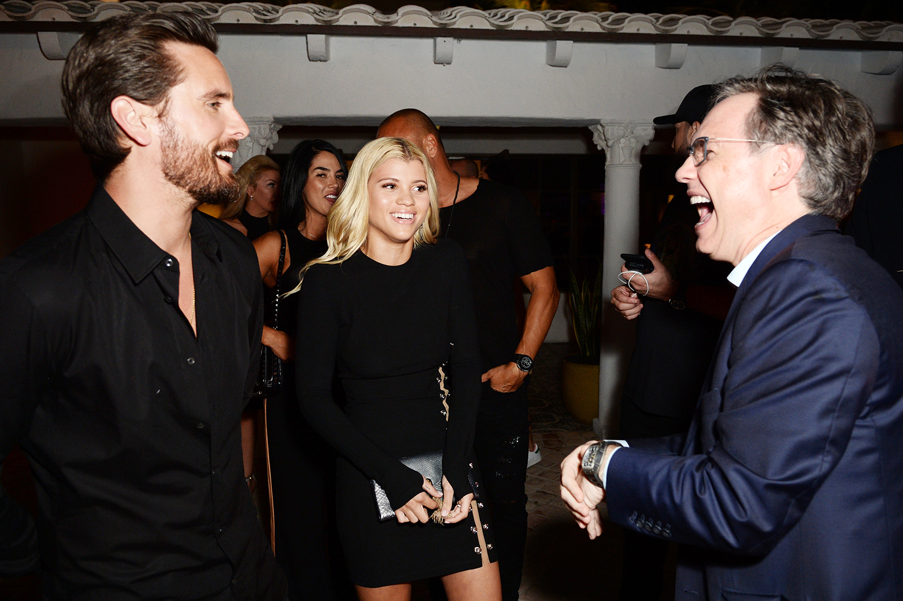 Scott Disick Sofia Richie Jason Binn Art Basel