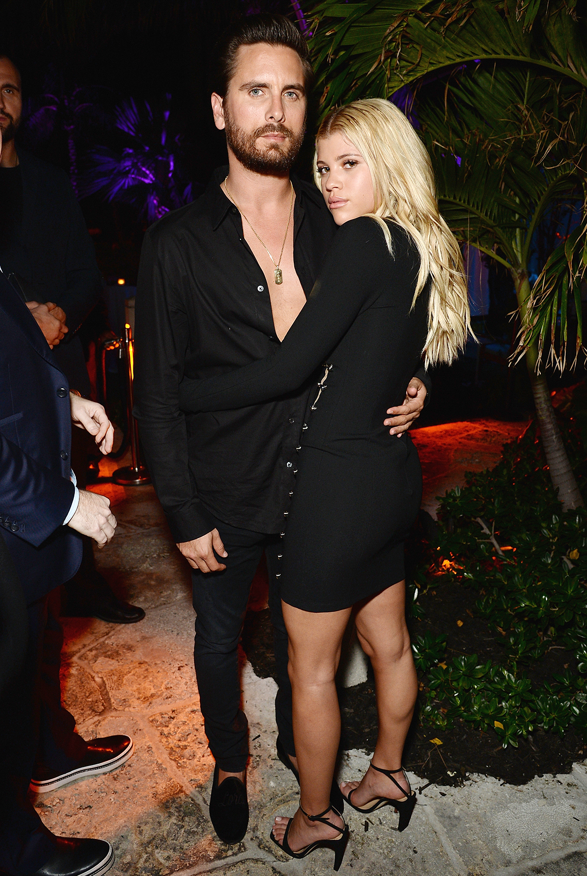 Scott Disick Sofia Richie Art Basel