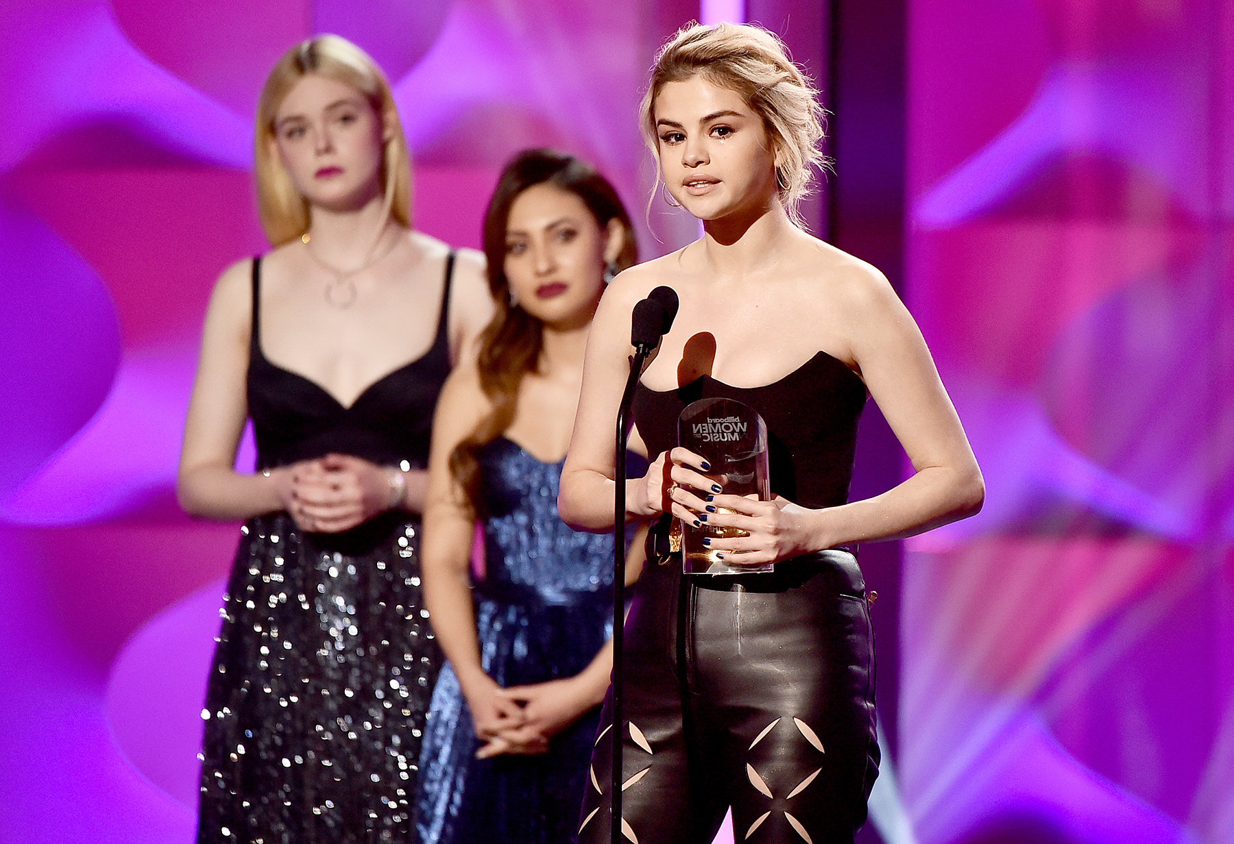Selena Gomez Woman of the Year Award Billboard Women In Music 2017