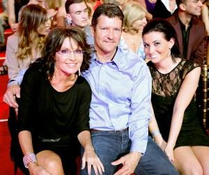 Sarah Palin, Todd Palin, and Willow Palin
