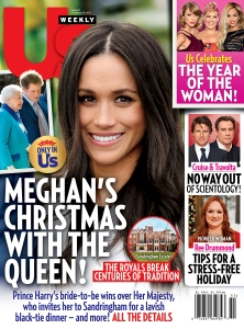 Us Weekly cover Meghan Markle