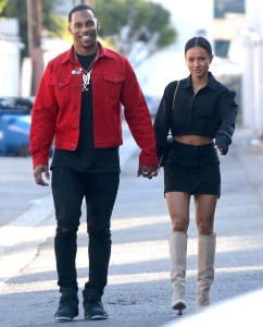 Victor Cruz, Karrueche Tran, New York Giants, Dating, Chris Brown Ex